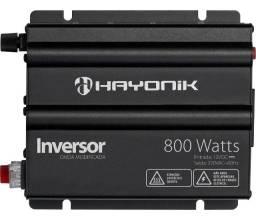 NOVO - Conversor Inversor 12VDC para 220V 800W Onda Modificada Pico 1600W Hayonik