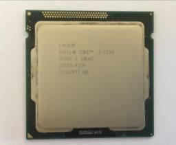 Processador Core I3 3.1ghz 2100 Sr05c
