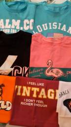 T-shirts e croppeds