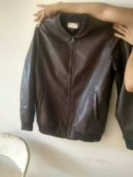 Jaqueta de couro ecológico GG