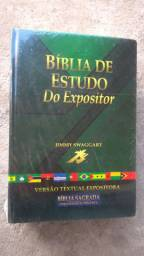 Bíblia de Estudo do Expositor nova (promoção)
