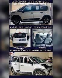 Aircross Live 2016/2017 Automático por 21.500,00 Reais e Ipva 2020 Pago
