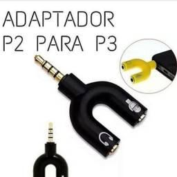 Adaptador P3 no preço