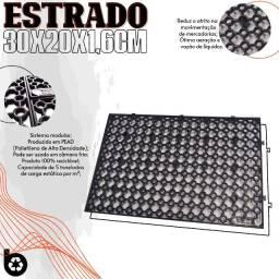 Estrado Plástico Mini 30x20x1,6cm