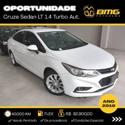 Cruze Sedan LT 1.4 Turbo - Novíssimo