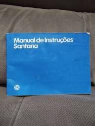 Manual original Volkswagen Santana