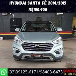 Hyundai Santa Fé WD 4x4 2014/2015 R$100.900 Sandro Veículos */ *