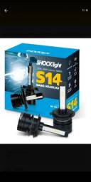 Lâmpada ultra LED shocklight prova dágua h7