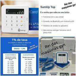"""Maquinas de cartão sumup """"top via Bluetooth"""" $45,00"""