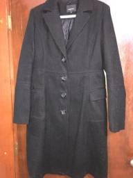 Sobretudo casaco lã