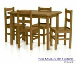 Mesa em Madeira em Promoção R$800,00 POR  R$ 699,00 a vista