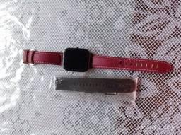 Relógio colmi p8, com 2 pulseiras.