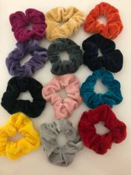 Kit 12 scrunchies