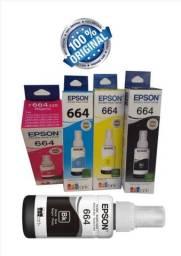Tinta Epson 664 original modelos ecotank.