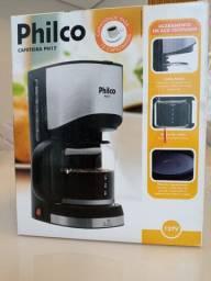 Cafeteira Philco Ph17 Preta E Prata 110v