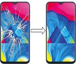 Vidro da Tela para Samsung M10 M105, Mantenha a Originalidade do seu Estimado Celular!