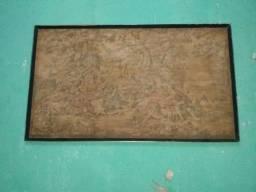 Vendo quadro antigo tapeçaria
