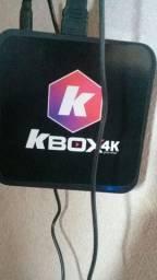 Aparelho kbox tv