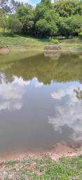 S) vendo lote com lago de pesca...