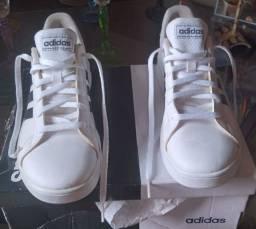 Tênis unissex adidas branco