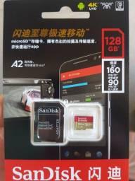 Cartão micro sd 128Gb