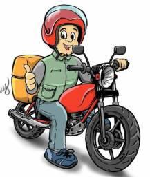 Faço serviço de motoboy, entregas e coletas
