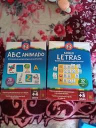 ABC animado e Bingo Letras