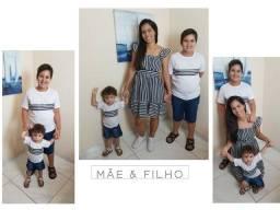 Vestido Mãe & Filho