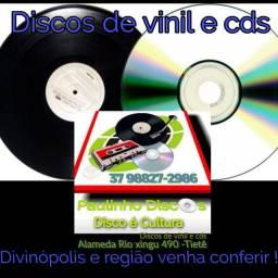 Discos e cds é aqui no Paulinho Discos