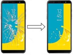Vidro da Tela para Samsung J6 Plus J610, Mantenha a Originalidade do seu Estimado Celular!