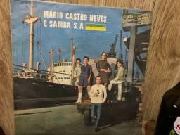 Disco vinil Mário Castro Neves