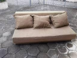 Sofá cama casal 3 lugares