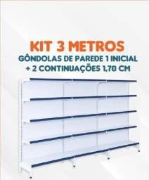 Gôndola - kit promocional parede 1,70