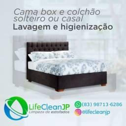 Lifecleanjp limpeza de estofados em geral