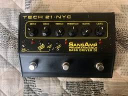 Pedal Sansamp Bass Driver Di Progammable