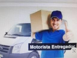Vaga para Motorista entregador R$1.800,00