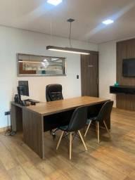 sala mobiliada e decorada em escritório de advocacia no Carandá Bosque