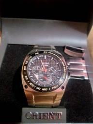 Vendo Relógio Orient Edição Limitada MBSSC016 Com Mostrador Fibra de Carbono