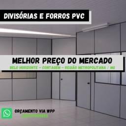 Título do anúncio: Divisórias e forro PVC