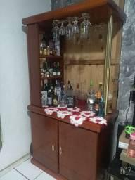 Barzinho de sala madeira pura