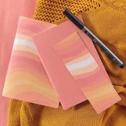 caderneta /caderno de anotações vintage aesthetic