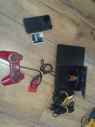Vendo um PS2 e Samsung SM-J110L para aproveitar peças