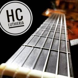HC LUTHIERIA manutenção em instrumentos músicais e áudio em geral