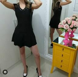 Vestido preto tamanho P - Desapego