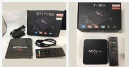 Tv box em promoção?DESBLOQUEADA? e com três aplicativos grátis. .