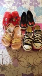 Vendo sapato número 30 são 4 pares