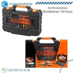 Kit Ferramentas Black&Decker 104 Peças
