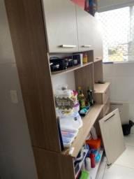 Armário de cozinha 5 portas e 3 gavetas