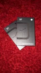 Smartwatch x7 e um brinde de uma smartband M3