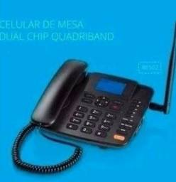 Telefone fixo Dual chip